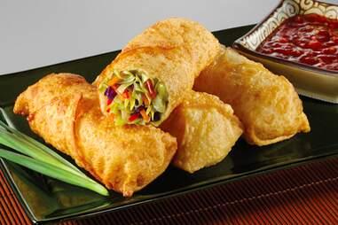 Mah Jong Chinese Kitchen egg rolls