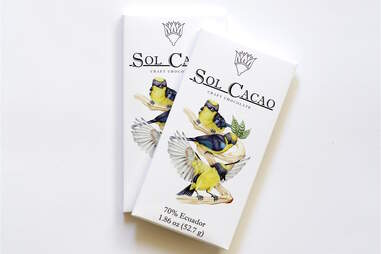 Sol Cacao vegan chocolate