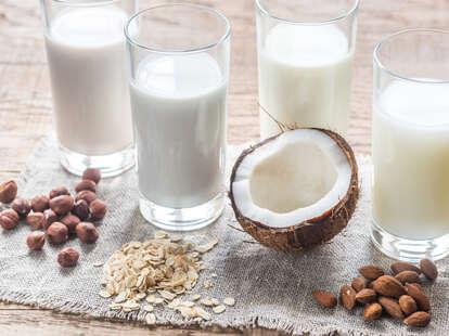 types of non-dairy milk