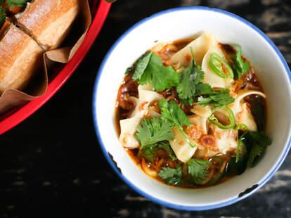 Elizabeth Street Cafe noodles