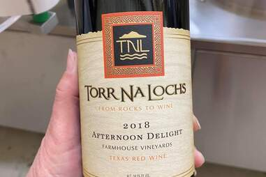 Bouteille de vin Torr Na Lochs