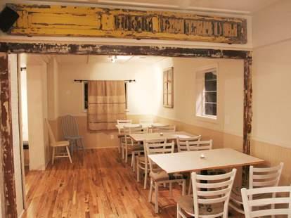Dining room at Buttermilk Kitchen in Atlanta