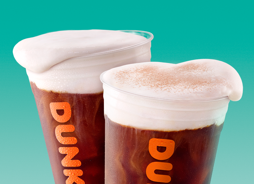 Dunkin' Is Finally Introducing Sweet Cold Foam for Cold Brew Drinks