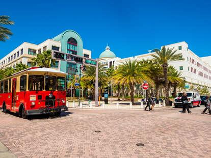 West Palm Beach downtown district