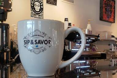 Sip & Savor Chicago coffee