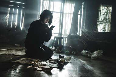 Park Shin-hye in the call