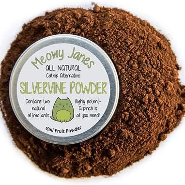 Meowy Janes Silvervine Powder