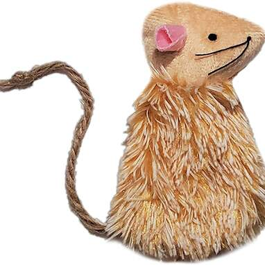 Refillable Mouse Toy With Valerian Root