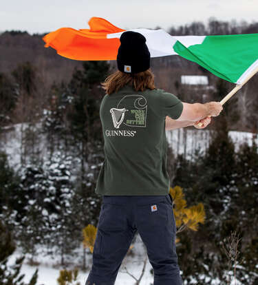 This Carhartt & Guinness Collab Will Get Your Spirits up for St. Paddy's Day