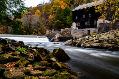 McConnell's Mill and waterfall
