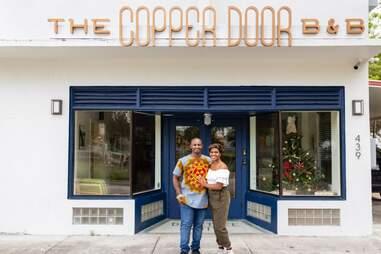 Akino West and Jamila Ross of Copper Door B&B