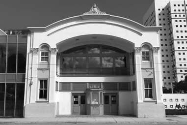 The historic Lyric Theatre