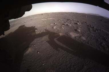 Mars rover images Perseverance