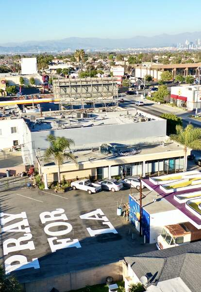aerial view crenshaw dairy mart