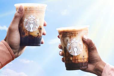 Starbucks new iced spring drinks