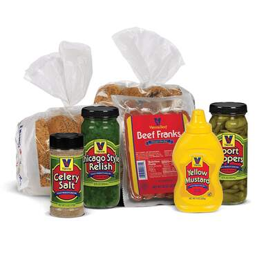 Chicago Style Hot Dog Kit from Vienna Beef