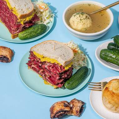 Complete Deli Dinner from Liebman's Kosher Deli