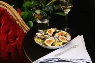 Bar Crenn Oysters