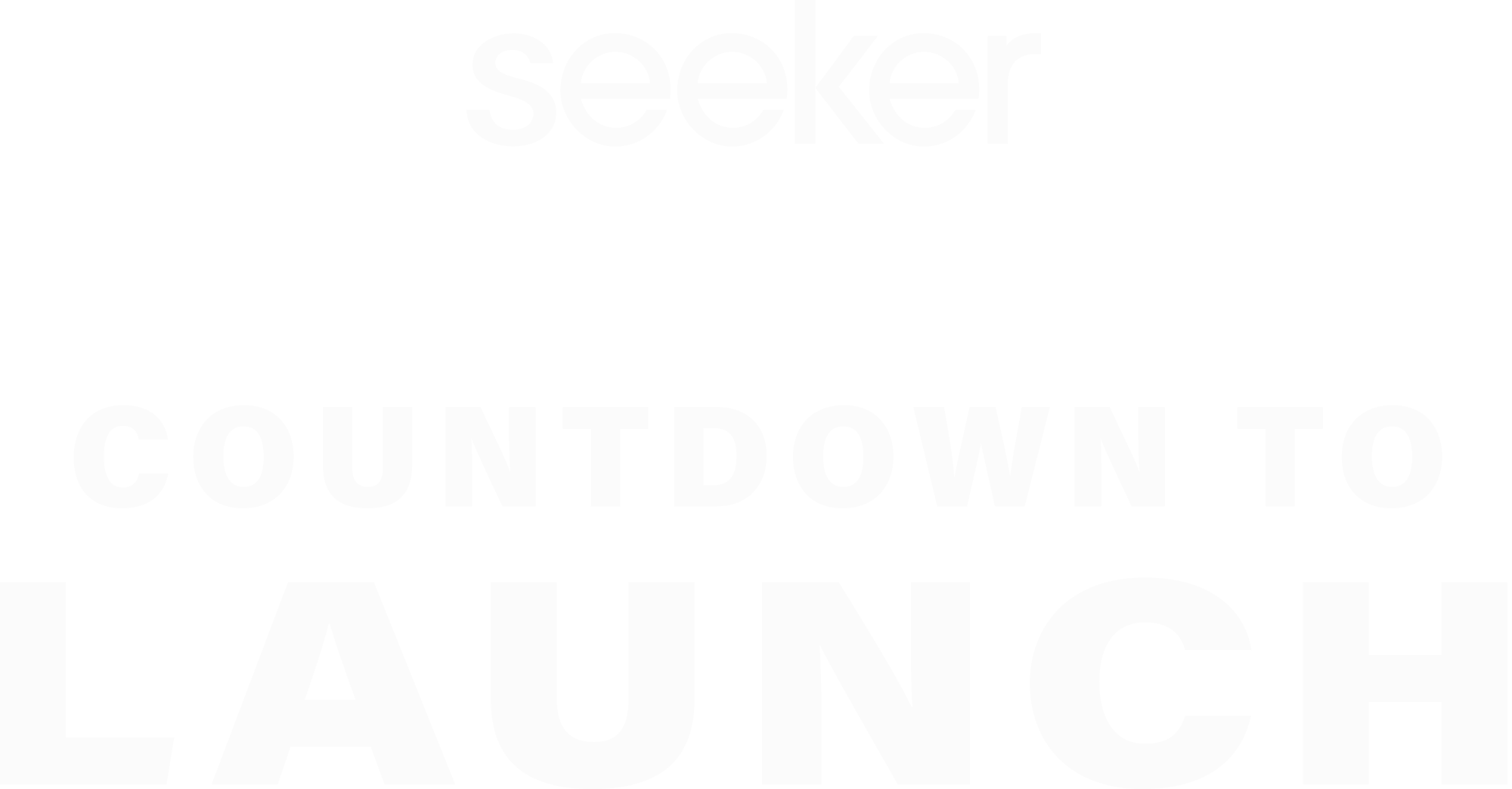 Seeker Countdown to Launch series intro