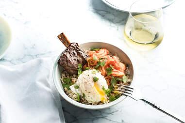 UP Inspired Kitchen short rib bowl