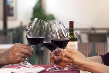 malbec wine for dinner