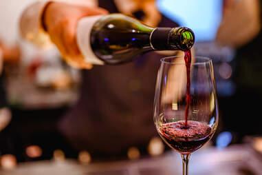 Cabernet Sauvignon wine for dinner
