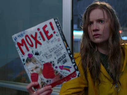 moxie movie, netflix, hadley robinson