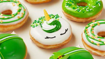 Krispy Kreme St. Patrick's Day donuts