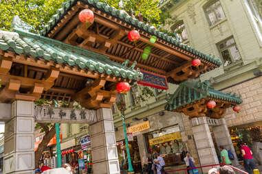 San Francisco Chinatown Gates 2015