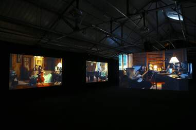 """Ragnar Kjartansson: The Visitors"" exhibit"