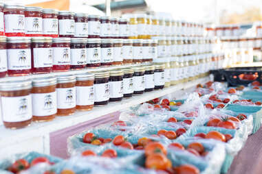 Texas Farmers' Market stand