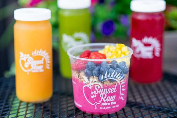 Sunset Raw Juice Bar