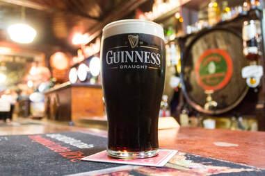 Irish dry stout Guinness