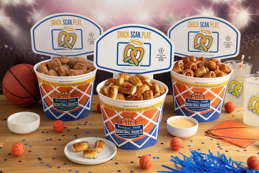 Auntie Anne's Is Giving Out Buckets of Pretzels During March Madness