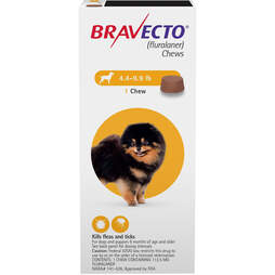 Bravecto flea and tick treatments for puppies