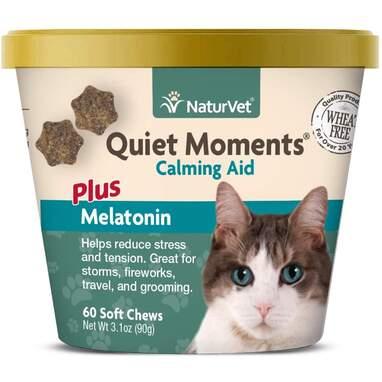 NaturVet Quiet Moments Calming Chews for Cats