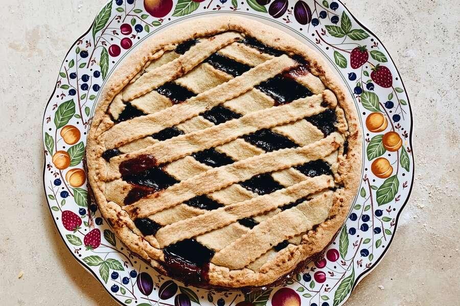 How to Make Wild Maine Blueberry Pie