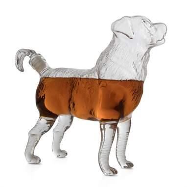 Dog Wine Decanter