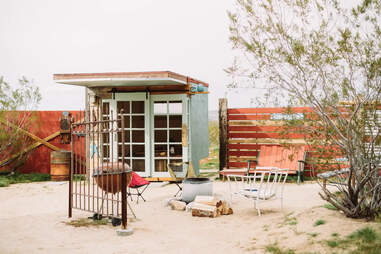cabin at porte-cochere airbnb