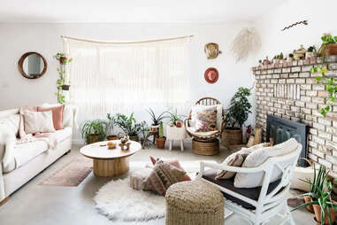 living room at Casa Joshua Tree