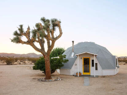 dome in the desert airbnb in joshua tree