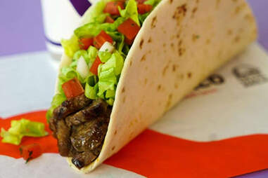 grilled steak soft taco fresco style tacos bell healthy
