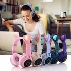 Cat Ear Bluetooth Headphones with LED Lights