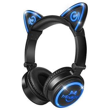 MindKoo Wireless Cat Ear Headphones