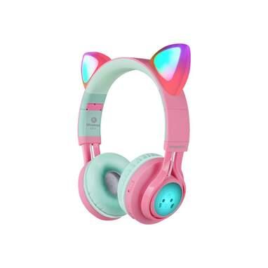 Riwbox CT-7 Cat Ear Bluetooth Headphones