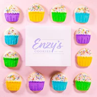 Birthday Sugar Cookies - 12 Pack