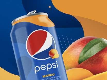 Pepsi Mango cans