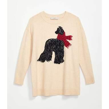 Maternity Dog Sweater