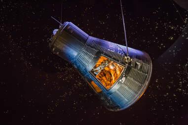 August, 2018: inside starship gallery in The Lyndon B. Johnson Space Center (JSC) in Houston, Texas.