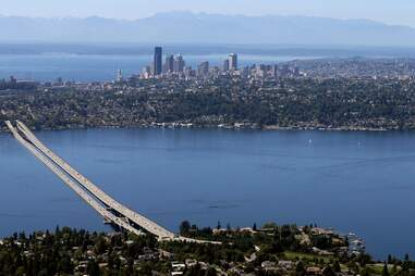 view from Mercer Island